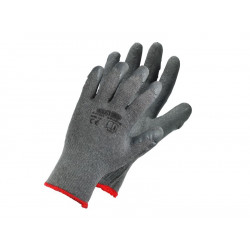 Latex-coated polyester cotton gloves S-EcoDrag