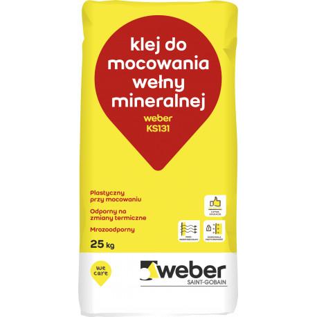 Dämmplattekleber Weber KS 131, 25 kg