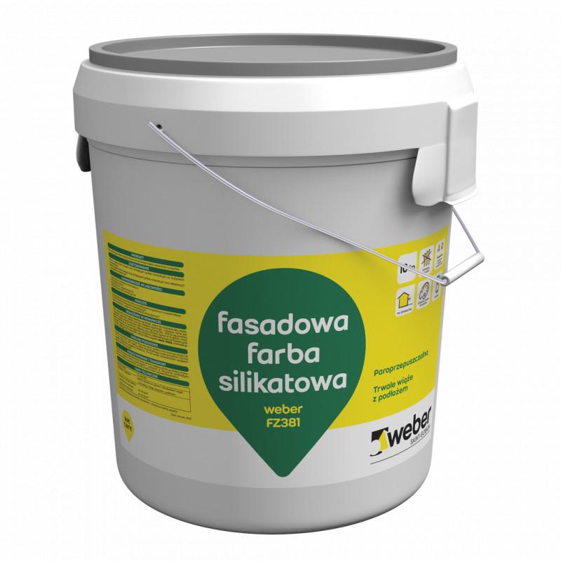 silicate paint weber fz381 25 kg realbud. Black Bedroom Furniture Sets. Home Design Ideas