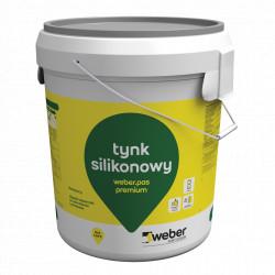 Silicone Plaster 1,5 mm Weber.pas premium, 30 kg