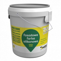Silicone Paint WEBER FZ391, 10 kg