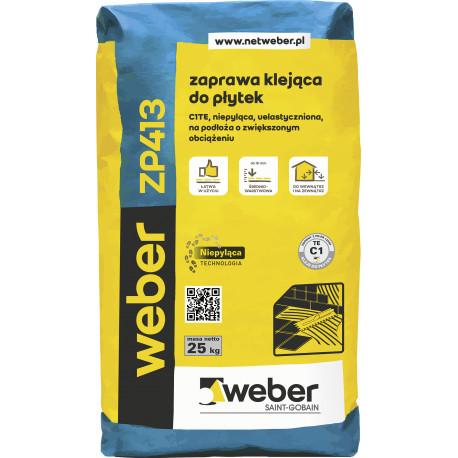 Klej do płytek WEBER ZP413, 25 kg