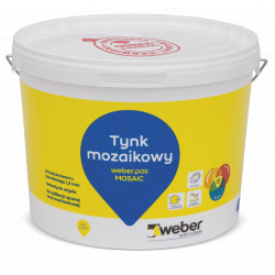 Tynk mozaikowy WEBER.pas mosaic, 15 kg