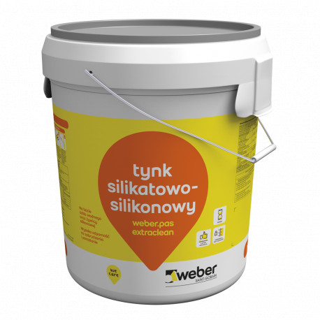 Silicone-silicate plaster 1,5 mm Weber.pas.extraclean, 30 kg