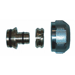 Compression Half-Union for Separators and composite radiator valve DN 16x¾''