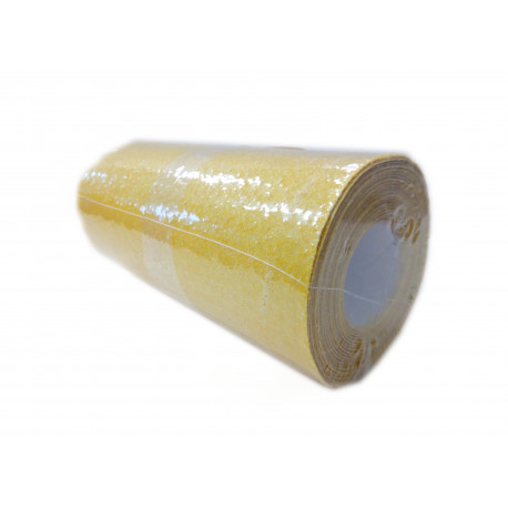 Papier ścierny żółty, rol. 100 gr. 11,5 cm x 3 m
