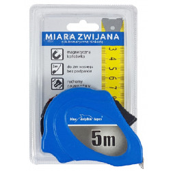 Miarka 5 m/22 mm BLUE DOLPHIN