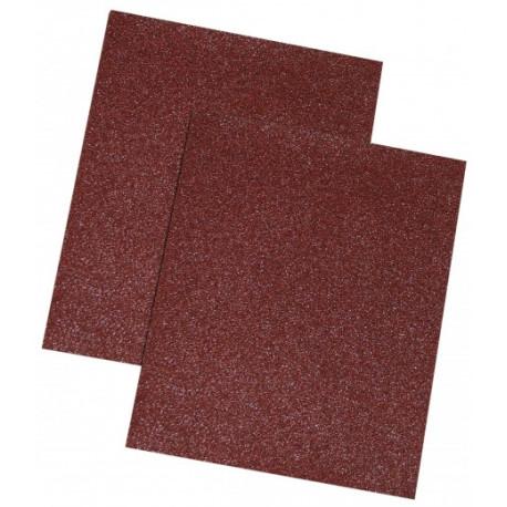 Papier ścierny brąz, 80 gr., kpl. 10 szt.