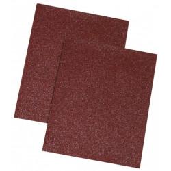 Braunes Schleifpapier, 100 gr., Set 10 Stück