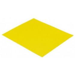 Papier ścierny żółty, gr. 80, 10 szt./kpl.