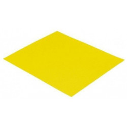 Yellow sandpaper, 80 gr., Set 10 pcs.