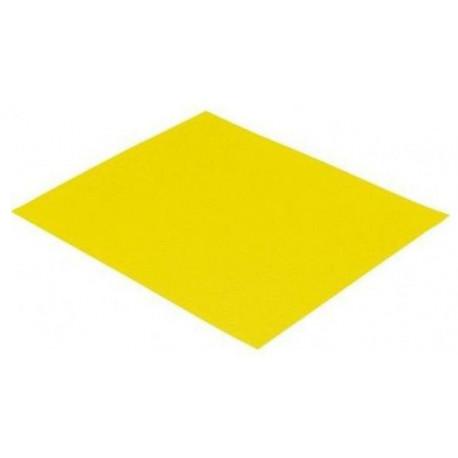 Papier ścierny żółty, 120 gr., kpl. 10 szt.