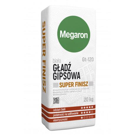 Gładź gipsowa z polimerami biała Super Finisz