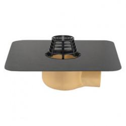 Wpust dachowy TRENDY pionowy nieogrzewany 7.5 cm