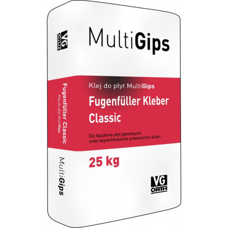 MultiGips Kleber Classic adhesive for regular plaster panel