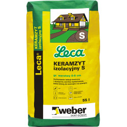Keramzite 0-4 mm Insulating S Sack 55 l