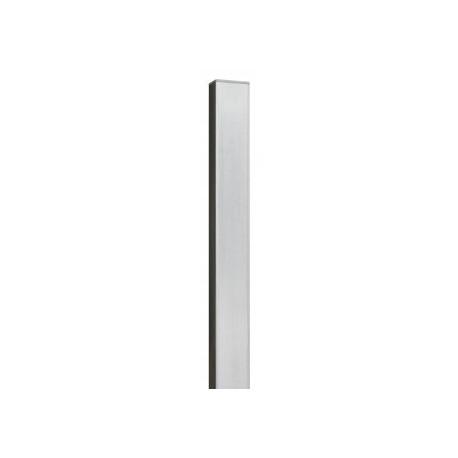 Słup ogrodzeniowy 2,0 m 40x60x1,10 mm bez otworu ocynk
