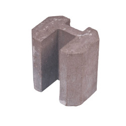Fence board connector end height 0,2 m