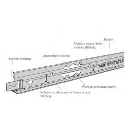 Profil główny AMF T 24/38 - 3,6 m VENTATEC