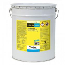 Weber.dry PUR seal 25 kg grau