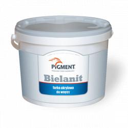 Farba PIGMENT BIELANIT  5L akrylowa biała