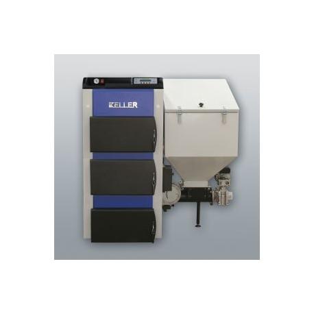 Kessel mit rechts Retorte EKO-KWP-25, 25kW