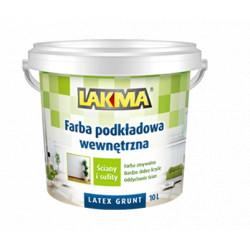 Farba LAKMA podkładowa latex 10l