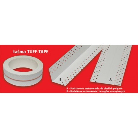 Drywall Joint Tape Inside corners TUFF-TAPE 20 m