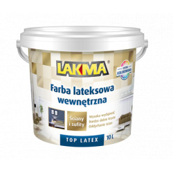 White base paint P1 10L TOP LATEX