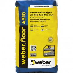 Selbstnivellierender Mörtel WEBER.FLOOR 4310 25 kg