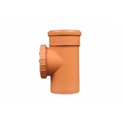 Rewizja PVC-U kanalizacyjna 200 nakręcana