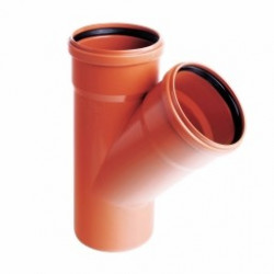 Trójnik PVC-U kanalizacyjny 200x110/45˚