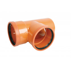 Trójnik PVC-U kanalizacyjny 250x160/87˚