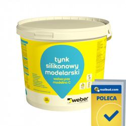 WEBER.pas modelino C plaster for concrete imitations
