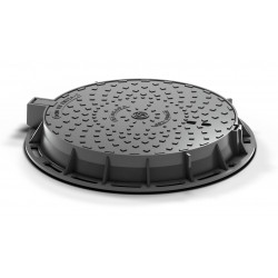 Cast iron manhole cover D400 Hydrotop