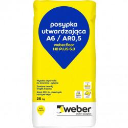 Posypka utwardzająca Weber.floor HB PLUS 6.0 - 25 kg