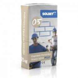 Mauerwerksmörtel SOLBET 0,5 M10, 25 kg